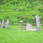 Stone circle in Kerry