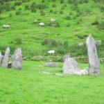 Stone circle in Kerry
